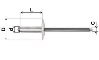 Alluminio / Acciaio